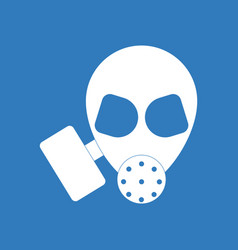 Icon military gas mask vector