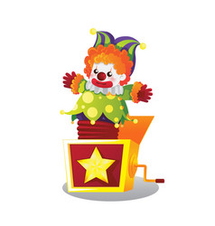 jack in the box vector image