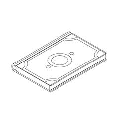 Koran icon isometric 3d vector