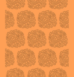 seamless pattern with abstract circles vector image