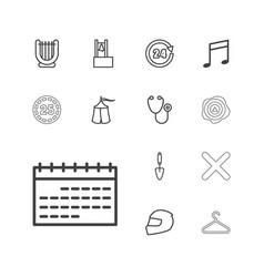 Single icons vector