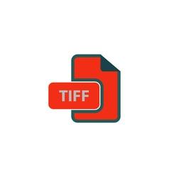 TIFF Icon vector image