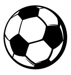 Soccer ball icon icon cartoon vector