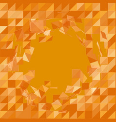 abstract mesh background chaotically vector image