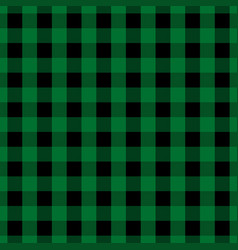 green tablecloth seamless pattern vector image vector image