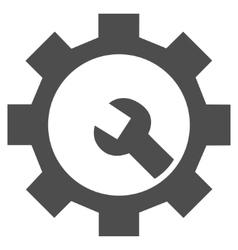 Hardware Maintenance Flat Icon vector