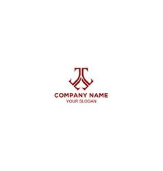 Letter triple t logo template vector