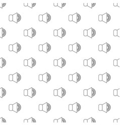 volume up pattern seamless vector image
