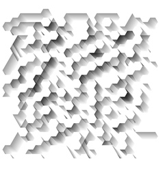 White technological background vector image
