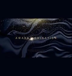 award nomination ceremony luxury background with vector image