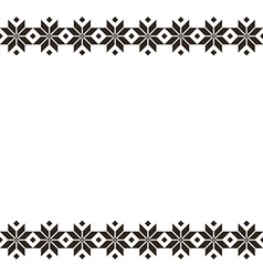 Belorussian sacred ethnic ornament seamless vector image