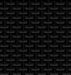 Black embossed abstract design in a seamless vector