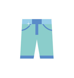 Isolated pants icon flat design vector