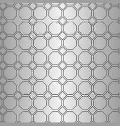Seamless geometric line pattern in arabian style vector