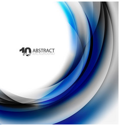 Smooth wave template vector