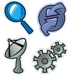 objects for website vector image