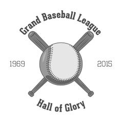 Vintage Baseball Label vector image