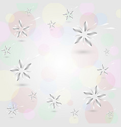 abstract pattern on circle colorful background vector image
