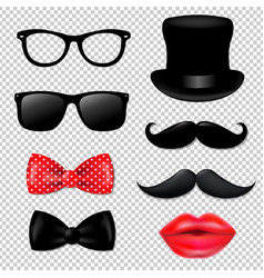 Big hipster collection vector