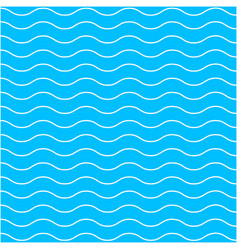 blue wave pattern background vector image