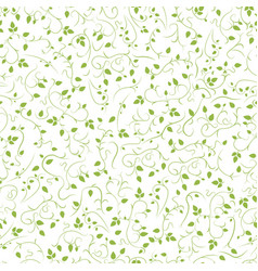 curve seamless floral pattern abstract vector image