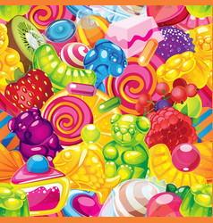 Jelly candy vector