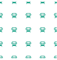 playpen icon pattern seamless white background vector image