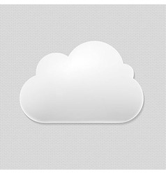 Cloud Icon vector image vector image