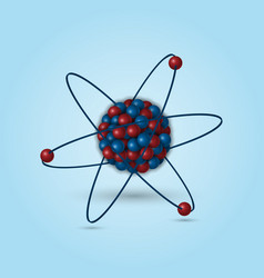 3d atomic structure vector