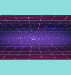 abstract background in 80s style vector image