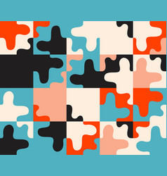 Abstract geometric seamless pattern made vector