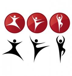 ballet dancers vector image