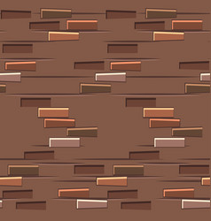 brown brick wall texture seamless flat seamless vector image