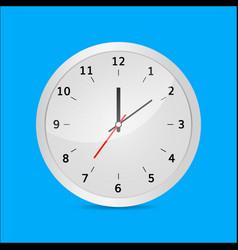clock 3d vector image