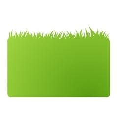eco green banner business card vector image