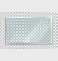 Glossy screen vector