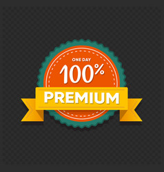 premium offer sticker sale ends sunday retail tag vector image