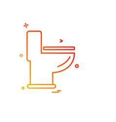 sanitary icon design vector image