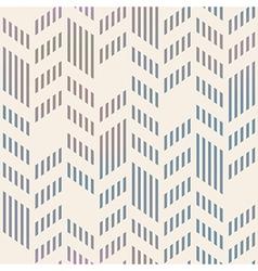 Abstract Seamless Geometric Chevron Pattern Mesh vector image vector image