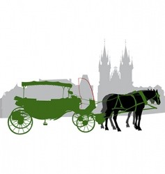 carriage 2 vector image