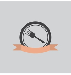 Eatery symbol vector image vector image