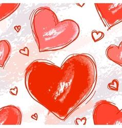 Pattern love vector image
