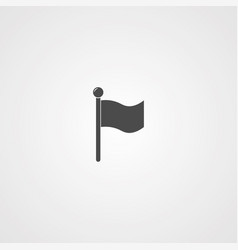 flag icon sign symbol vector image