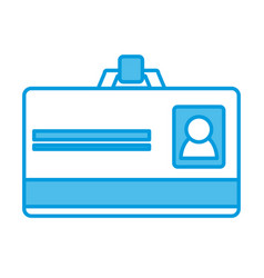 id business card vector image