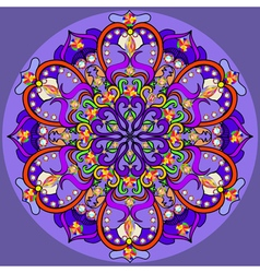 Mandala decoration isolated design element vector
