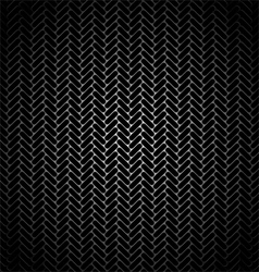 metal grille vector image