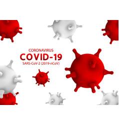 Novel coronavirus covid-19 infection 2019-ncov vector