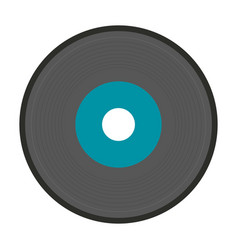 old music vinyl vector image