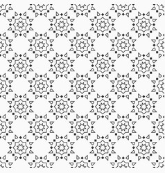 oriental eight pointed stars seamless pattern vector image