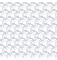 seamless 3d isometric pattern vector image
